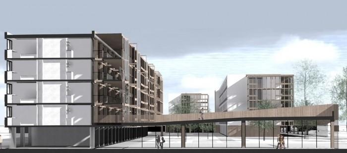 Projet de fin d'étude - Réhabilitation et extension d'une résidence universitaire