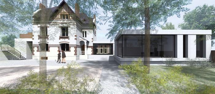 Projet Master 1 - Réhabilitation et extension de l'établissement de placement éducatif de Caen