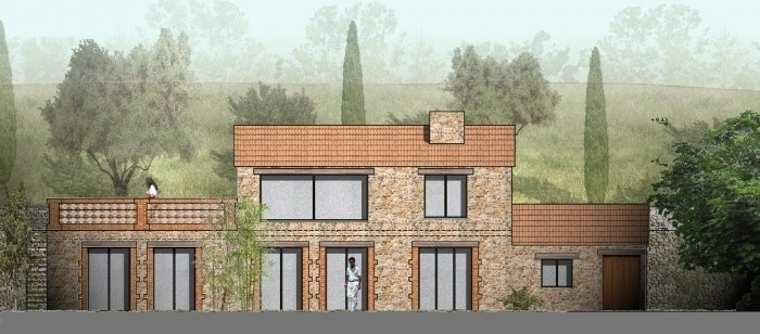 Extension d'une maison individuelle dans le Roussillon