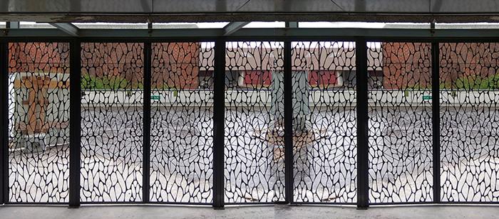 Résille métallique - immeuble Bercy Lumière - Sahuc et Katchoura 2018